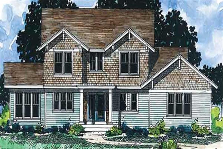 Main image for house plan # 20924