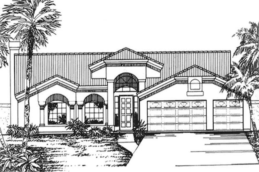 Main image for house plan # 20725