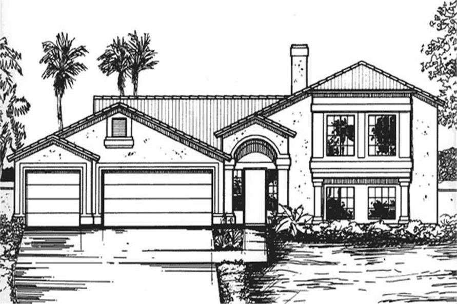 Main image for house plan # 20739