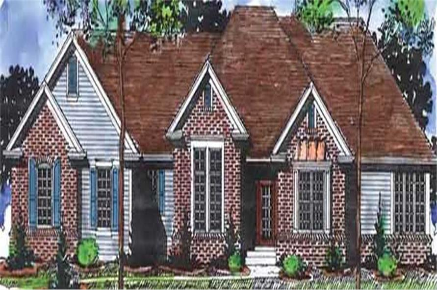 Main image for house plan # 20884