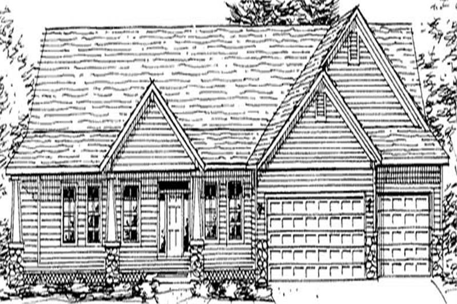 Main image for house plan # 20571