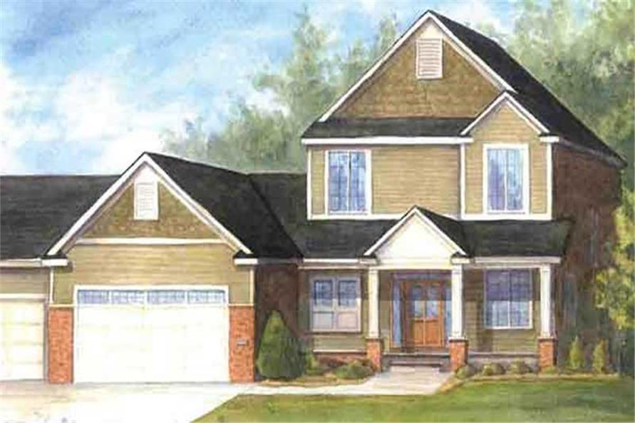 Main image for house plan # 20904