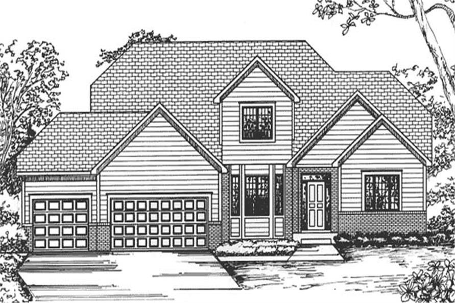 Main image for house plan # 20824