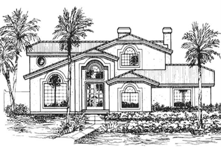 Main image for house plan # 20727