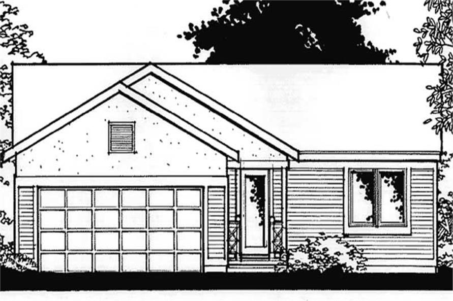 Main image for house plan # 20876