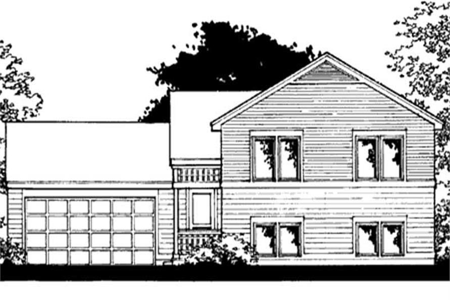 Main image for house plan # 20874