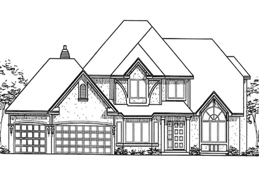 Main image for house plan # 20856