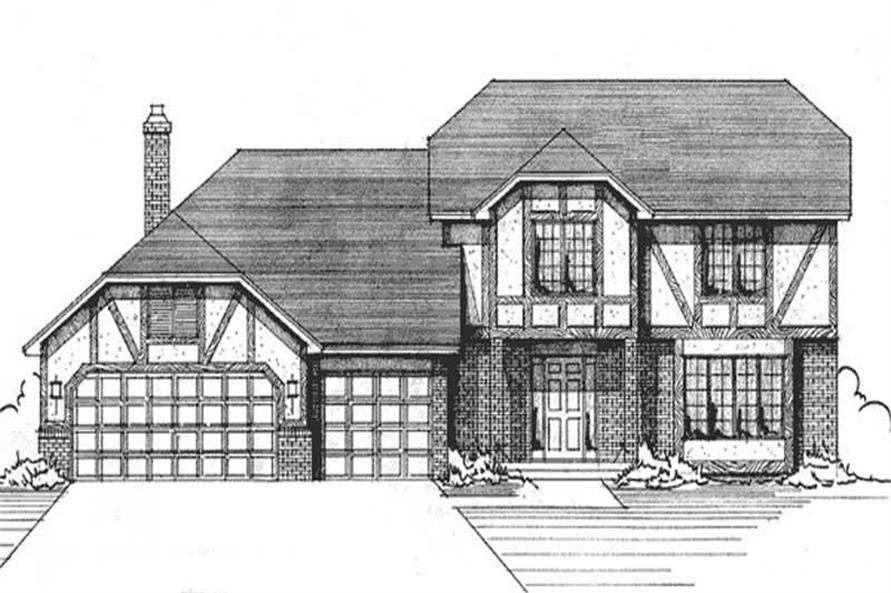 Main image for house plan # 21193