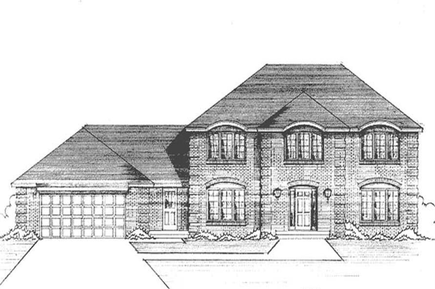 Main image for house plan # 21232