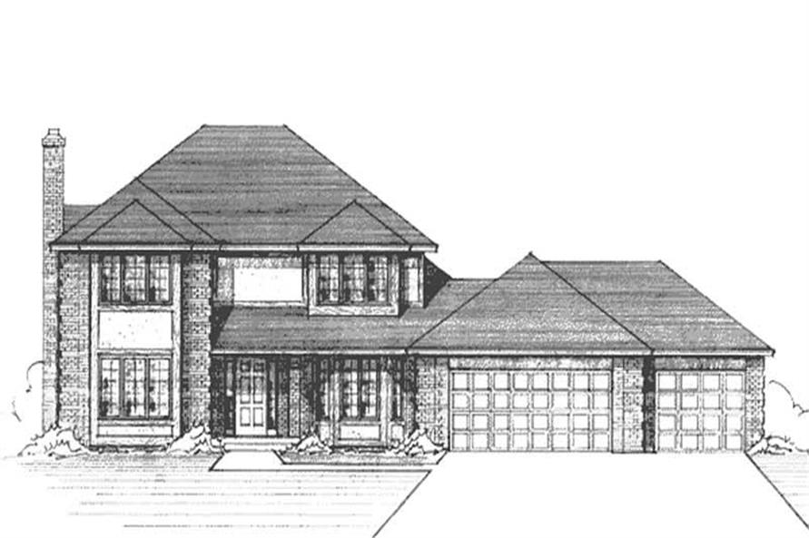 Main image for house plan # 21246