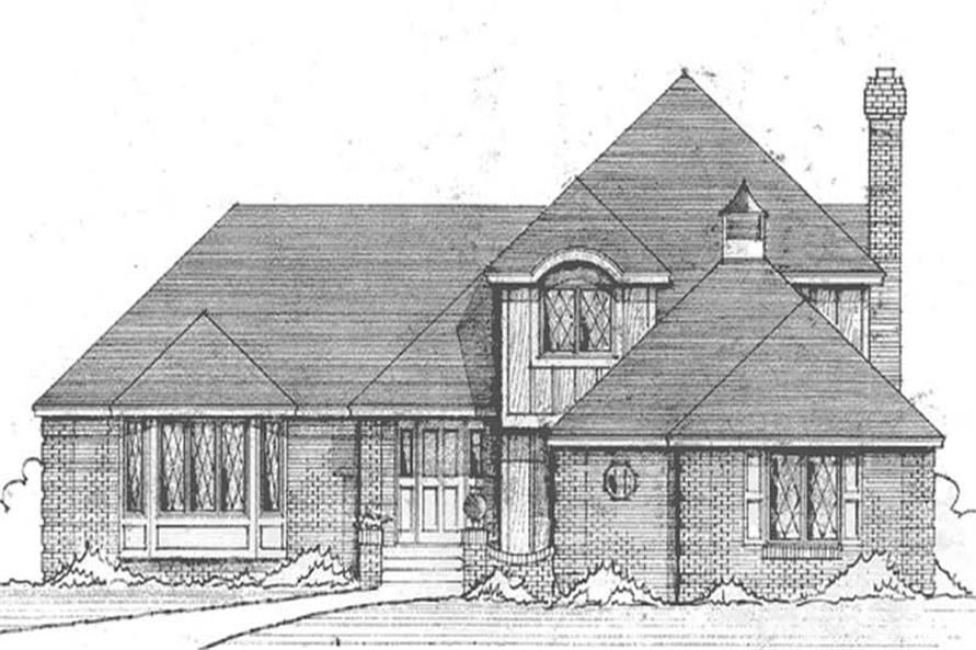 Main image for house plan # 21271