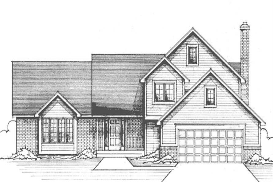Main image for house plan # 21236