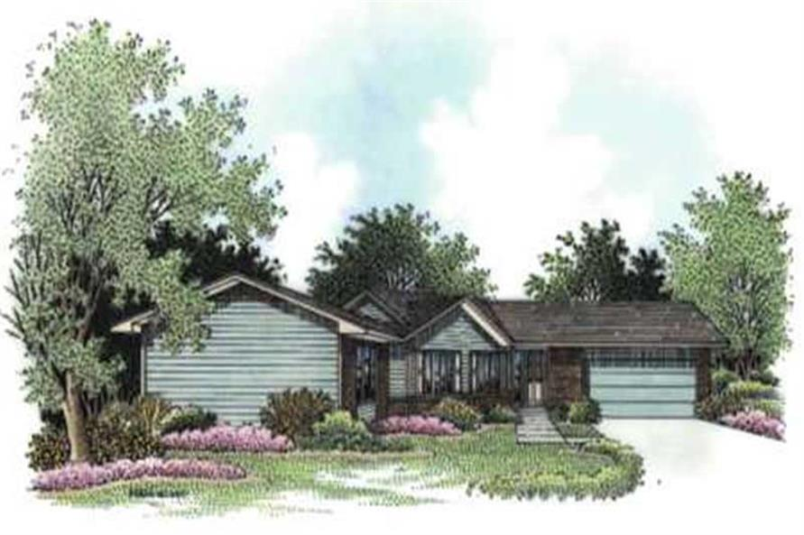 Main image for house plan # 20720