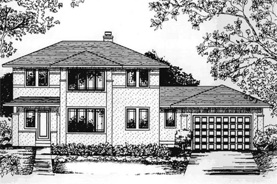 Main image for house plan # 20808