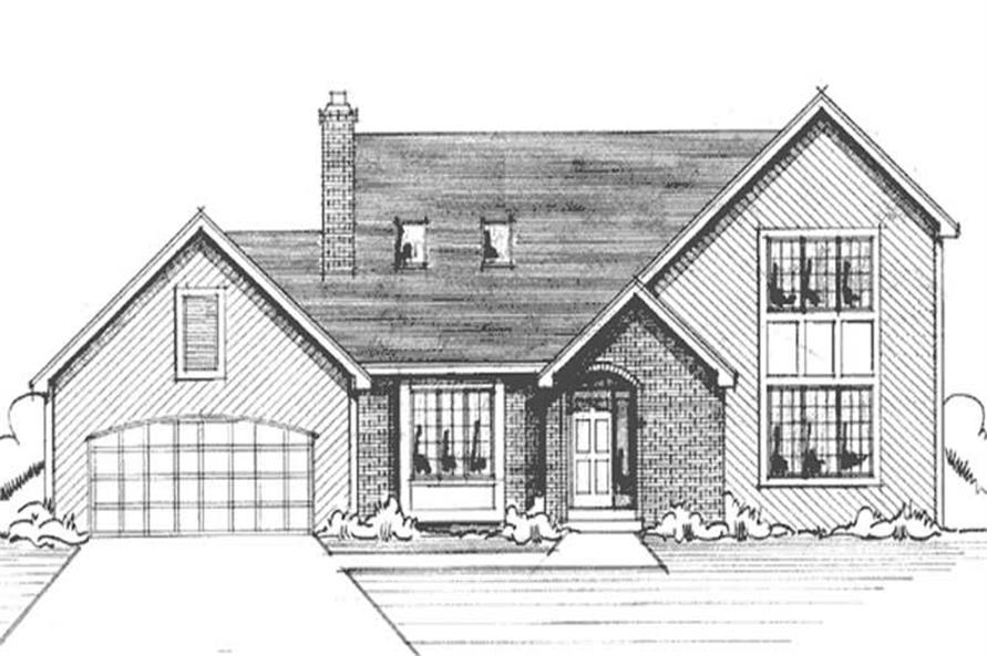 Main image for house plan # 20960