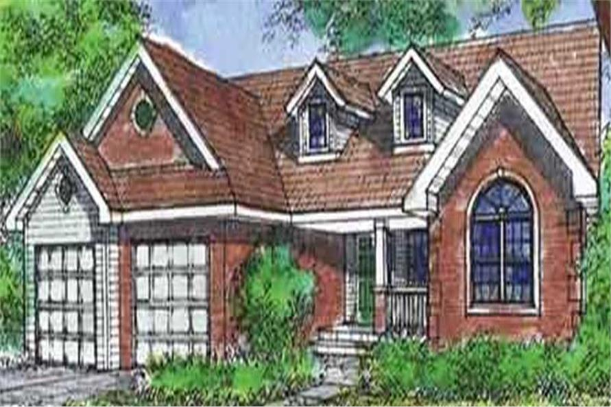 Main image for house plan # 20590