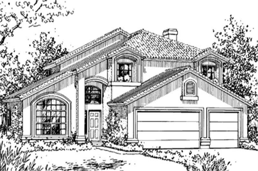 Main image for house plan # 20736