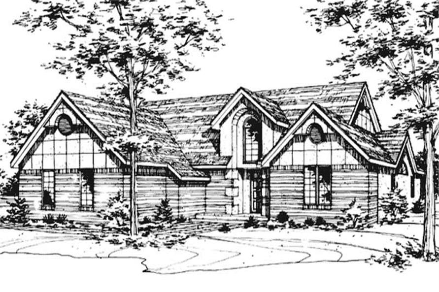 Main image for house plan # 21432