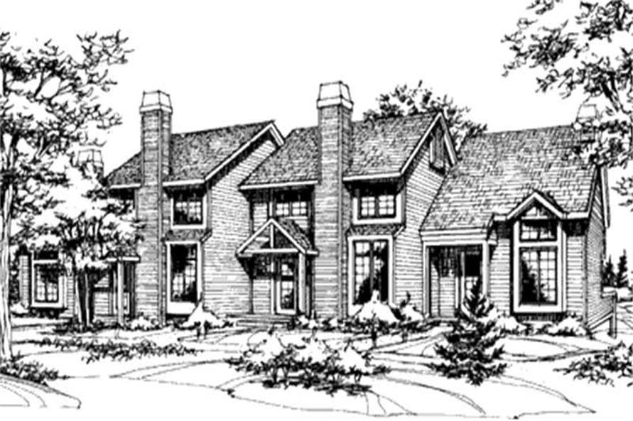 Main image for house plan # 21506