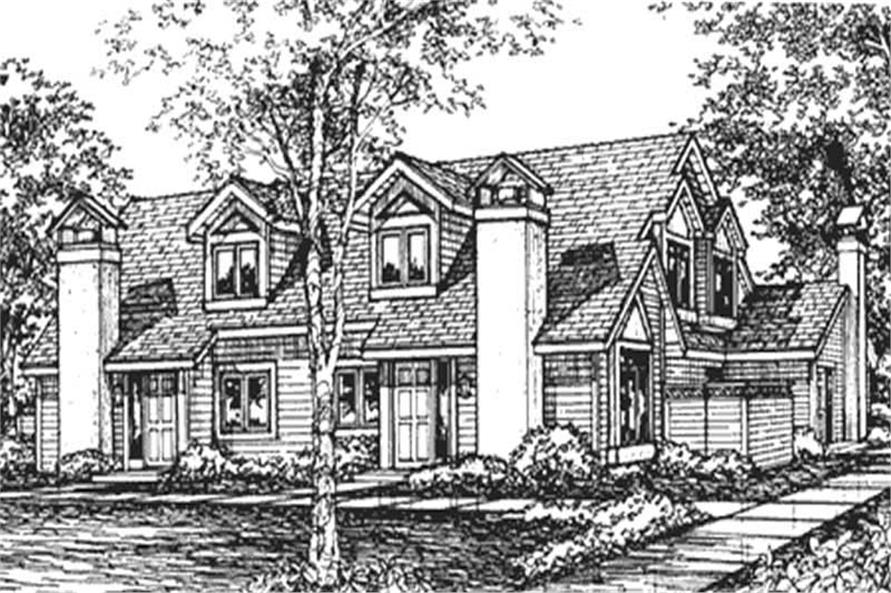 Main image for house plan # 21504