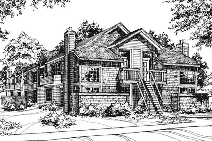 Main image for house plan # 21497