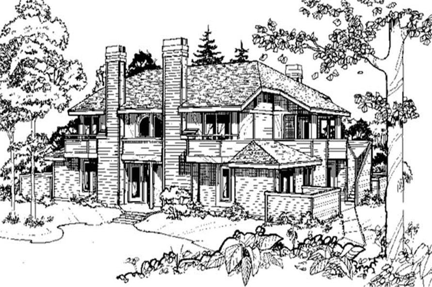 Main image for house plan # 21480