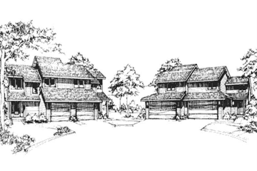 Main image for house plan # 21487