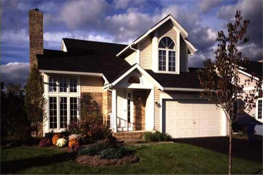 This is a color photo of Country Home Plans LS-B-93018.