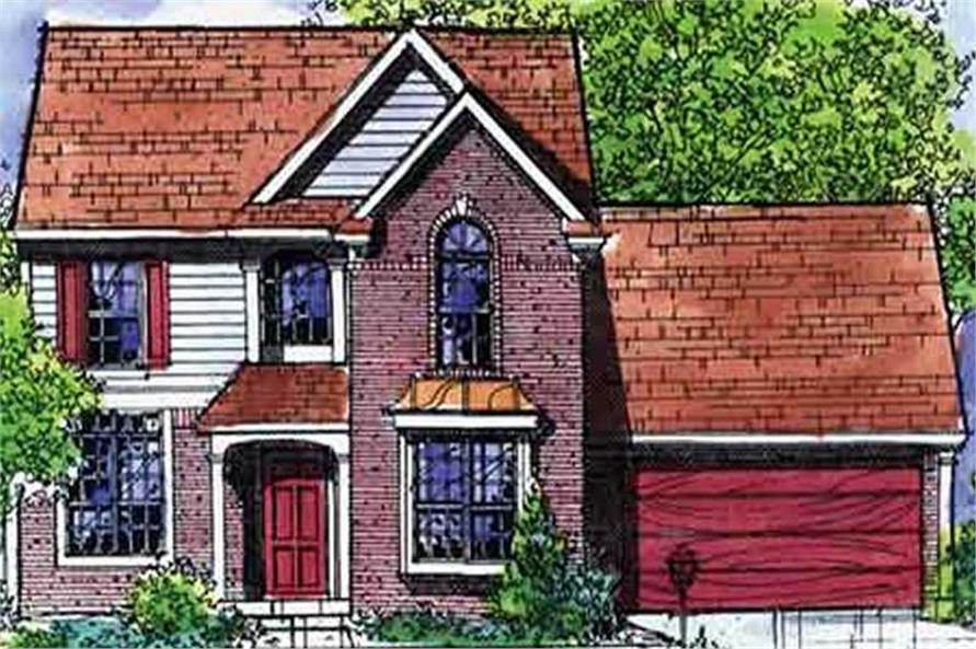 Main image for house plan # 21304