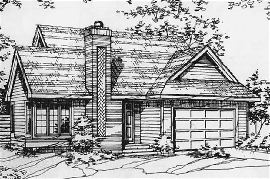 Main image for house plan # 21421