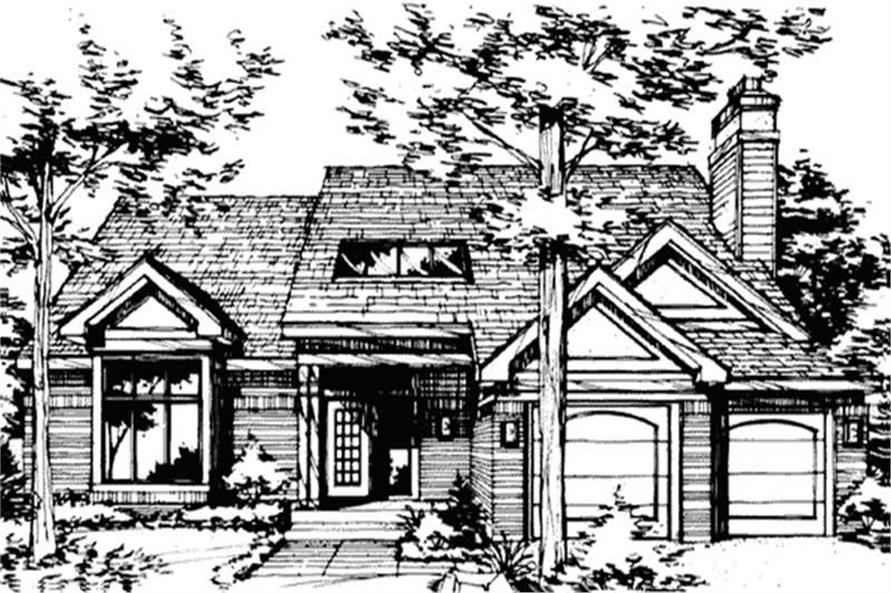 Main image for house plan # 21415