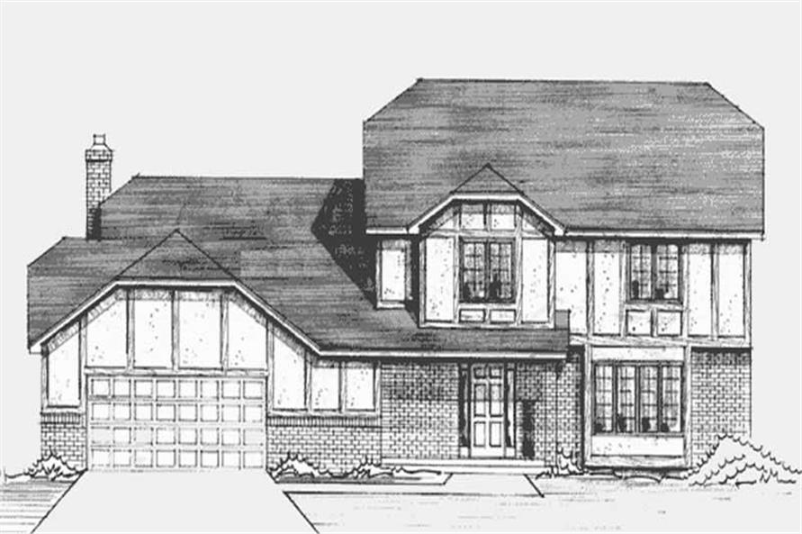 Main image for house plan # 21238