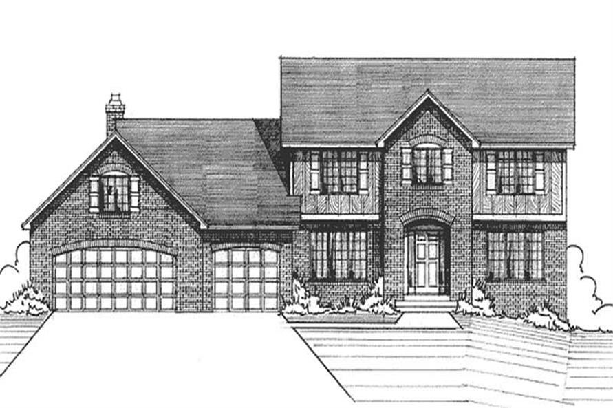 Main image for house plan # 21195
