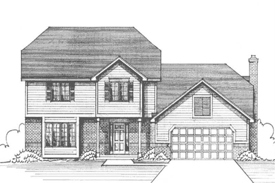 Main image for house plan # 21239