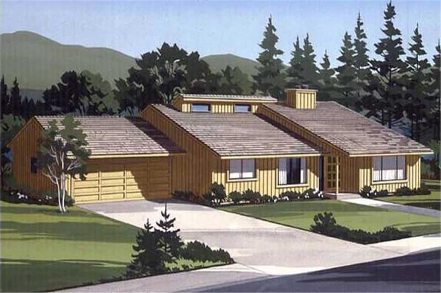 Color Rendering to Home Design LS-H-1383-1A