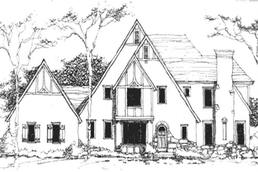 Main image for house plan # 21142