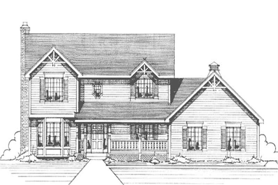 Main image for house plan # 21146