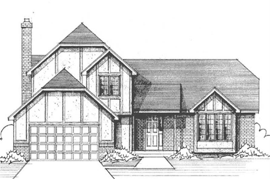 Main image for house plan # 21240