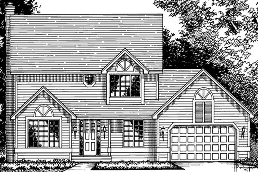 Main image for house plan # 21256