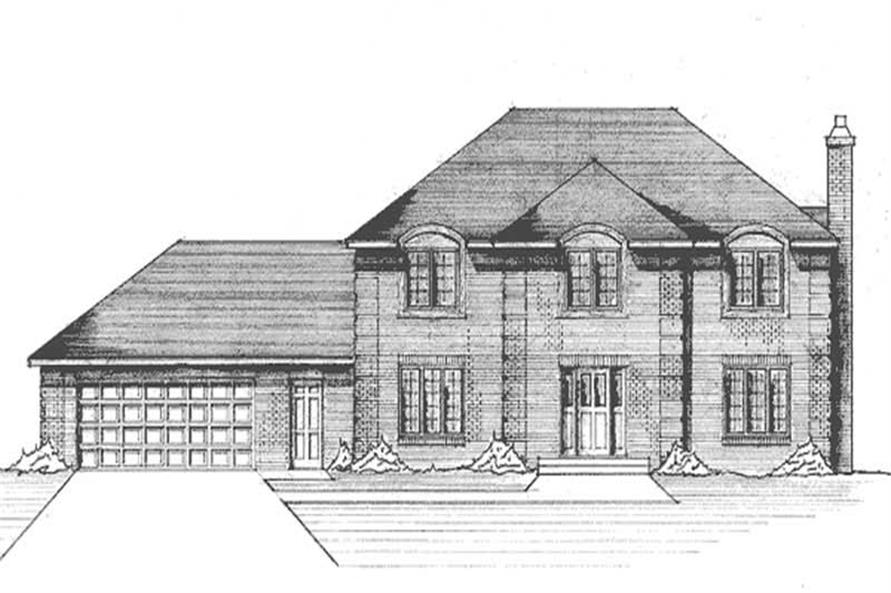 Main image for house plan # 21262