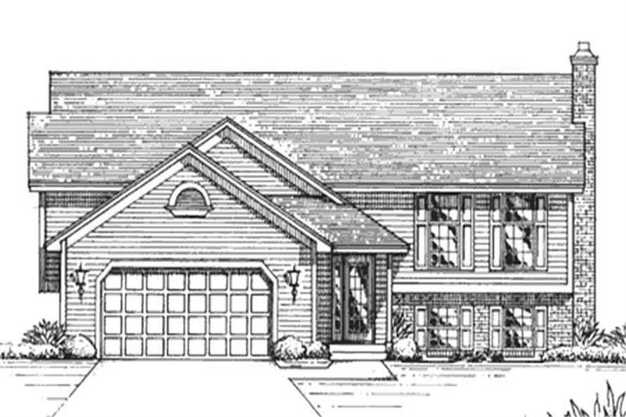 Main image for house plan # 21258