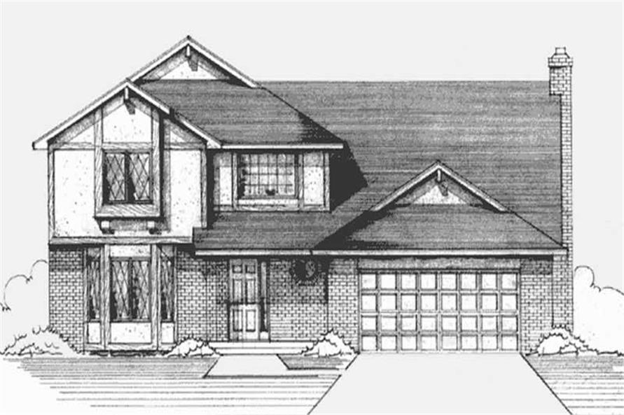 Main image for house plan # 21253