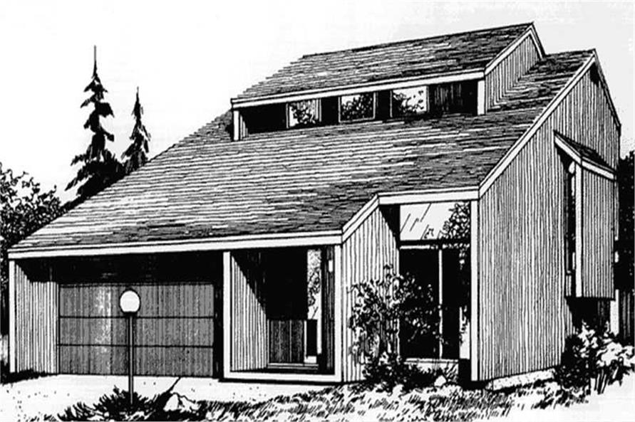 Main image for house plan # 21511