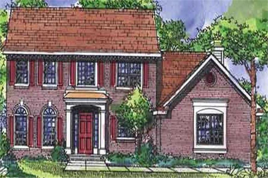 Main image for house plan # 21308