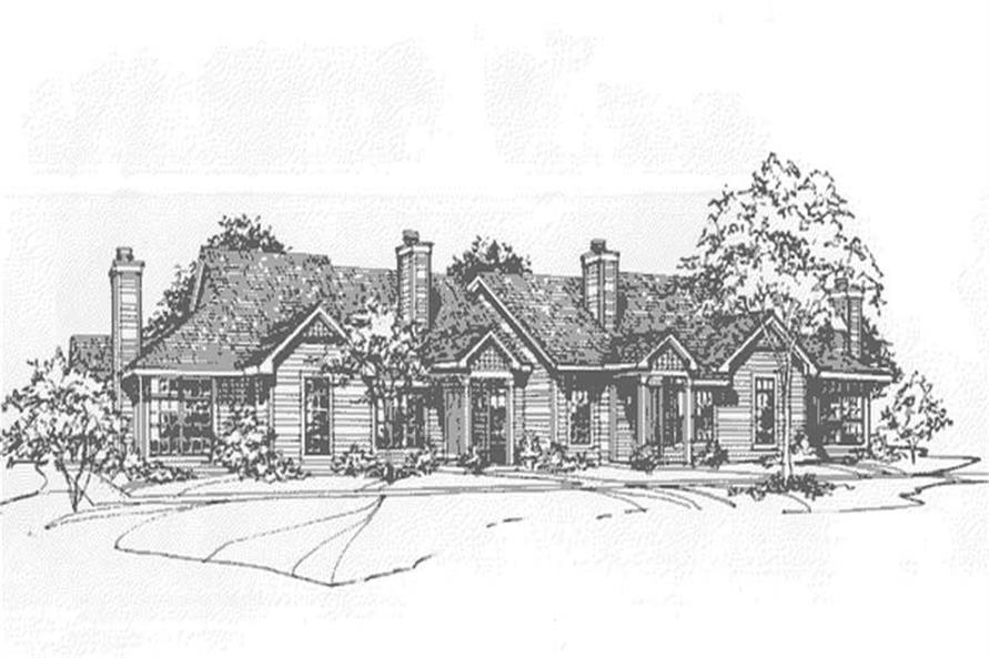 Main image for house plan # 21501