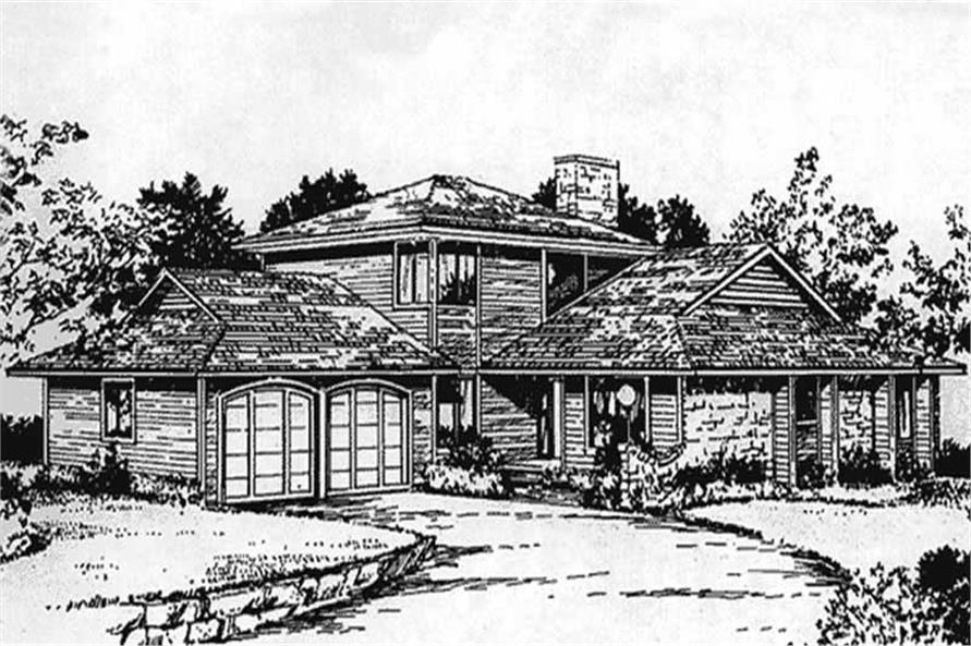 Main image for house plan # 21319