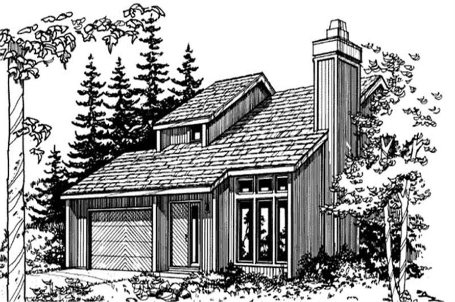 Main image for house plan # 21446