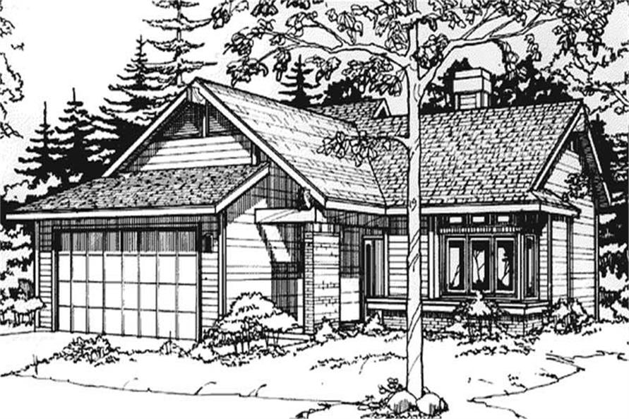 Main image for house plan # 21445