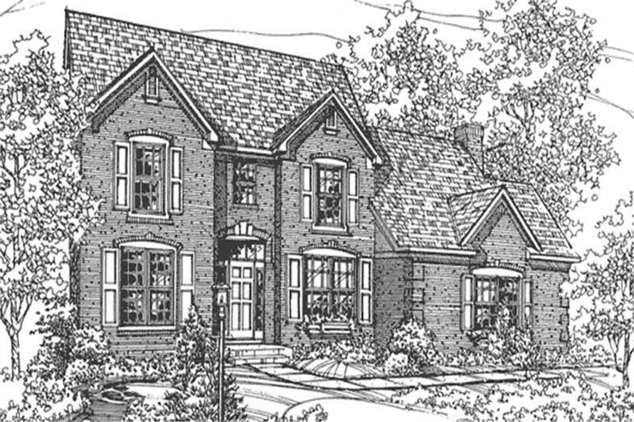 Main image for house plan # 21354