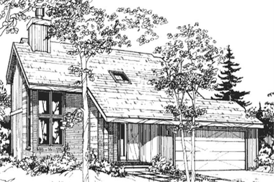 Main image for house plan # 21444